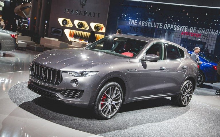 Maserati is secretly developing a twin-turbo V8 Levante, possibly to duke it with the Porsche Cayenne Turbo S