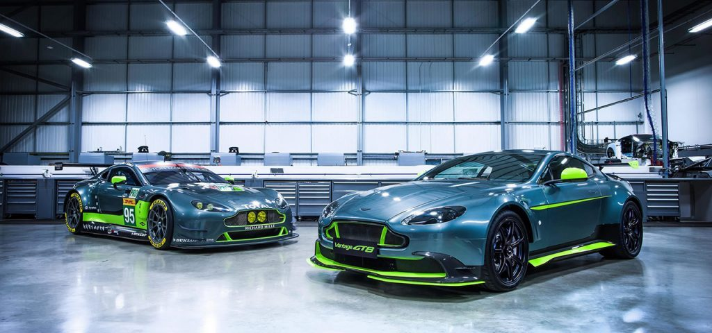 The Aston Martin Vantage GT8 is the latest lightweight limited edition version we've been promised